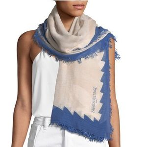 Brand New Zadig& Voltaire scarves